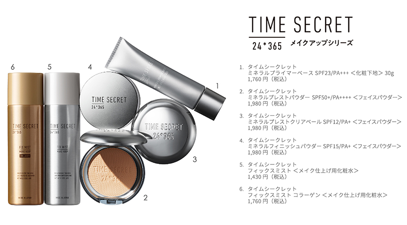 TIME SECRET allsku